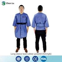 Recomendar x ray proteção de mangas compridas jaqueta exposição médica proteção radiológica 0.35mmpb chumbo borracha vestuário|medical clothing|medical jacket|protective clothing -