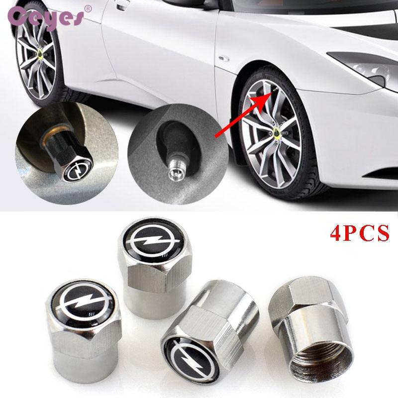 Ceyes Car Styling Auto Caps Case For Opel Astra H G J Corsa Insignia Antara Meriva Zafira Car-Styling Car Badge Accessories 4pcs