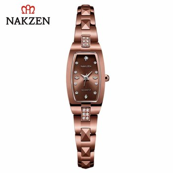 NAKZEN Quartz Women Watches Life Waterproof Wristwatch Luxury Montre Femme Clock Gifts for Women Diamond Watch Relojes De Mujer new longbo luxury brand women watch gold ceramic bracelet lady quartz watch waterproof ladies clock relojes mujer montre femme