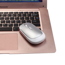 2.4GHz Smooth Hand Feeling Ultra Slim Mini USB Receiver Wireless Mouse Changeable 1600DPI Optical Gaming Mouse FW3(China)