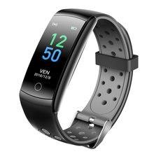 2021 q8 pulseira inteligente das mulheres dos homens monitor de freqüência cardíaca banda à prova dwaterproof água rastreador de fitness q8l relógio inteligente para ios android telefone