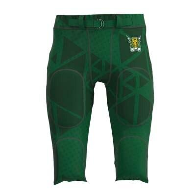 Пользовательские профессиональные американские футбольные брюки для мужчин и женщин детские полиэстер удобные гоночные тренировочные футбольные брюки - Цвет: Синий