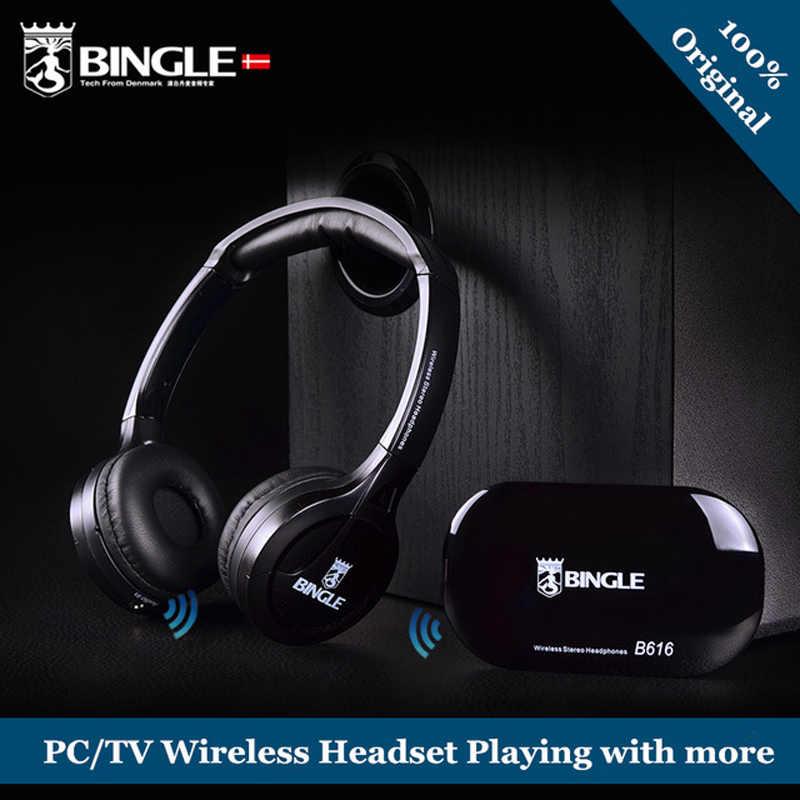 Wiele telewizor z dostępem do kanałów Audio oglądania słuchania słuchu bezprzewodowe słuchawki słuchawki z nadajnikiem dla Apple, Sony, Samsung, Xiaomi, lg TV