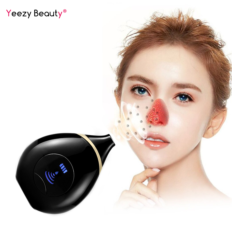 LED Blackhead Remover Face Deep Cleaner Acne Removal Vacuum Suction Facial SPA Diamond Beauty Care Tool Skin Care in Face Skin Care Tools from Beauty Health