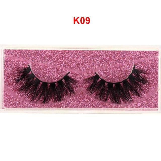 Mink Eyelashes 3D Mink 100% Cruel Eyelashes Handmade Natural Reusable Small Eyelashes False Eyelash Makeup Eye 3