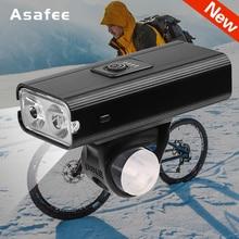 Bike Light Bicycle Light Rainproof USB Rechargeable T6 LED 1200mAh MTB Front Lamp Headlight Ultralight Flashlight Bicycle Light