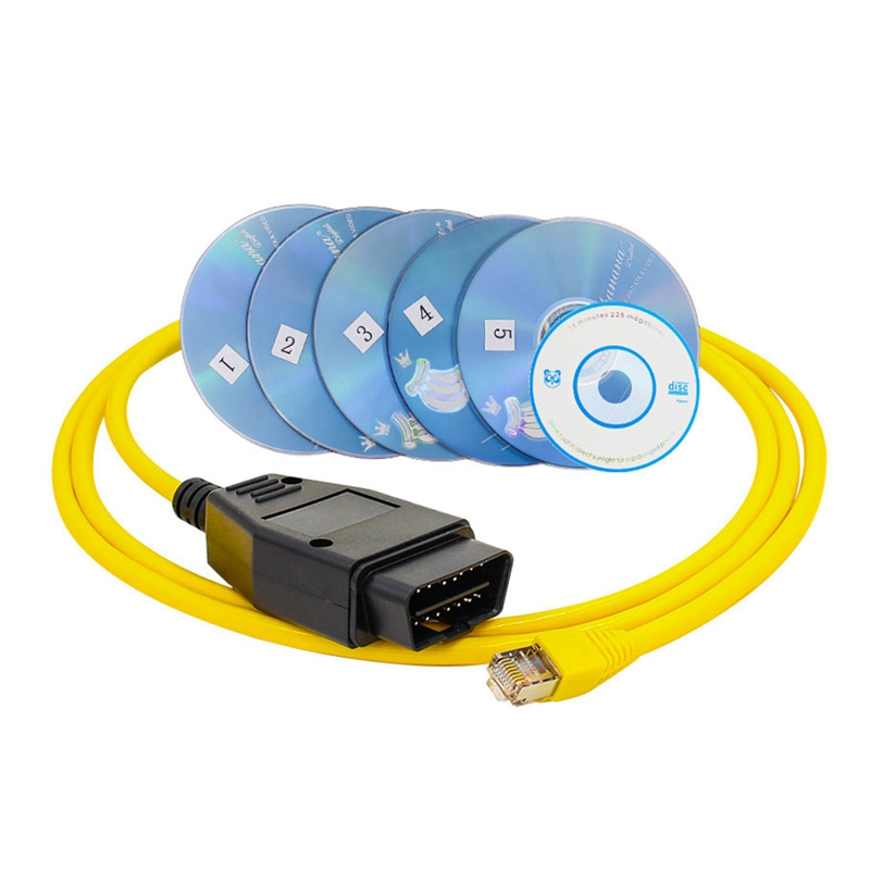 Ethernet ENET to OBD Interface Cable sys ICoM Coding F-series Fits BMW