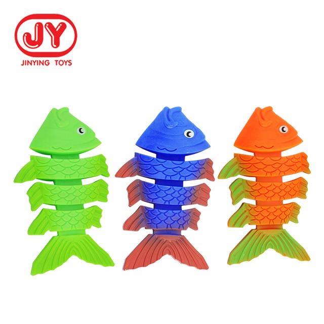 Children Summer Fish Bone Throwing Toys Pool Game Toys 2