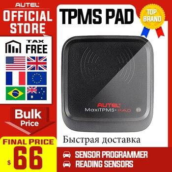 AutelAutel MaxiTPMS Pad narzędzie diagnostyczne programowanie ciśnienia w oponach Monitor Autel MX programator czujnika narzędzie TPMS czujniki Autel