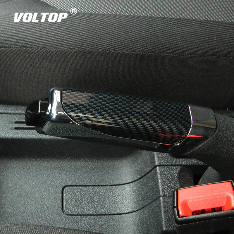 Handbrake Grips Handle Silicone Cover Slip Durable Car Handbrake Cover Set Plastic Parking Handbrake Universal Decoration
