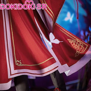 DokiDoki аниме Тянь Гуань Си фу Косплей Хуа Чэн Сан Лэнг вер красный костюм официальные благосклонности Хуа Чэн Косплей