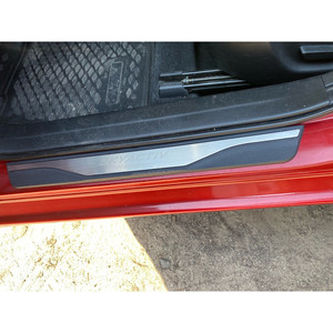 Image 5 - For Mazda 3 6 CX5 CX 5 2014 2015 2016 2017 2018 2019 Door Sill Scuff Plate Trim Welcome Pedal Protector Car Styling Accessories