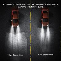 H4 H7 H1 H3 H11 H13 H27 880 HB3 HB4 9004 9007 8000Lm Ice COB 6500K 4500K Auto Fog Light T9LED Canbus Car Headlights Bulb LED 5