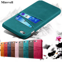 Voor Iphone Se 2020 5 5S Se 6 6S 7 8 Plus X Xs Xr Xs Max 11 pro Max Kaartsleuven Houder Telefoon Pu Leather Case Voor 5 5S Se 4 Cover