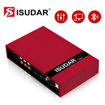 ISUDAR DA04 Car Amplifier DSP Auto Digital Audio Processor 700W MAX Bluetooth 5.0 31 Band EQ Position Frequency Division Filter isudar da04 car dsp amplifier for vw skoda old version auto digital audio processor 700w bluetooth 5 0 filter 31 bands eq