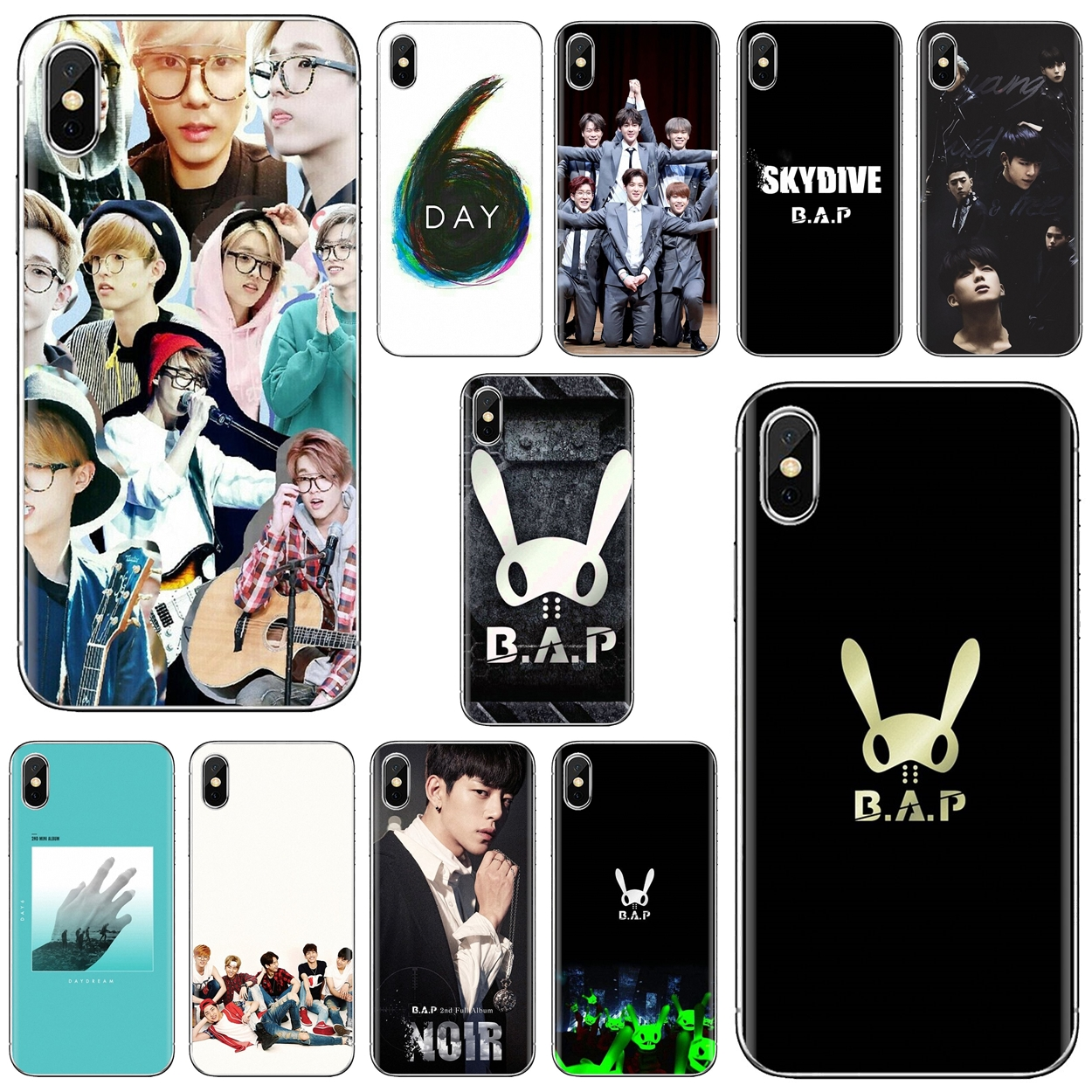 Silicone Phone Skin Case KPOP ASTRO B.A.P Day6 For Motorola Moto G G2 G3 X4 E4 E5 G5 G5S G6 Z Z2 Z3 C Play Plus