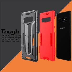 Image 3 - Funda protectora Nillkin, carcasa protectora para teléfono de capas, carcasa trasera para Samsung Galaxy S10 Plus S9 S8 Plus Note 9/8/Note FE Hybrid