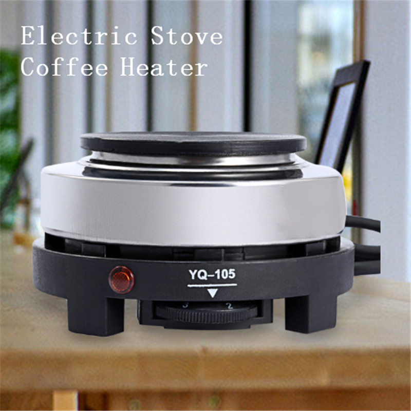 220-240V 500W Mini Electric Stove Coffee Heater Multifunctional  Heating Plate Furnace Cooking Portable Coffee Heater