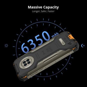 DOOGEE S96 Pro Smartphone 48MP Round Camera 20MP Infrared Night Vision 6.22'' Helio G90 Octa Core 8GB+128GB 6350mAh Rugged Phone 5