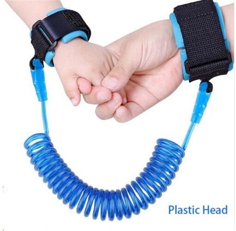 Страховочная шлейка для детей, поводок с защитой от потери, Тяговая веревка, браслет для безопасности детей