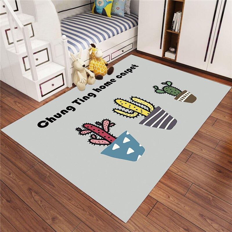 Nouveau design tapis de Style dessin animé pour salon tapis doux chambre d'enfants tapis mignons pour tapis de chambre/tapis CF