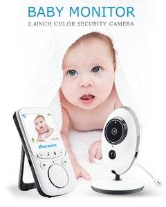 Детский Монитор VB605 беспроводной ЖК-Аудио Видео Радио няня музыкальный Интерком IR 24h портативная детская камера детская рация няня