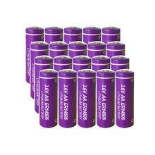 20 шт литиевые аккумуляторы pkcell aa 36 В er14505 2400 мАч