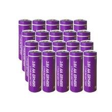 20 قطعة PKCELL AA 3.6 فولت بطاريات ليثيوم ER14505 2400mah بطارية غير قابلة للشحن لمعدات المرافق
