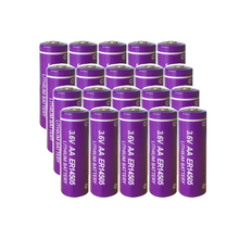 20PCS PKCELL AA 3.6V Lithium Batteries ER14505  2400mah Unrechargeable Battery for facility equipment