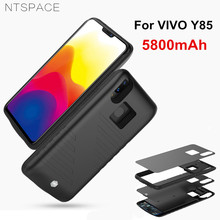 NTSPACE Ultra Slim Power Bank Cover For VIVO Y85 Case 5800mAh Portable Charger External Battery Powerbank
