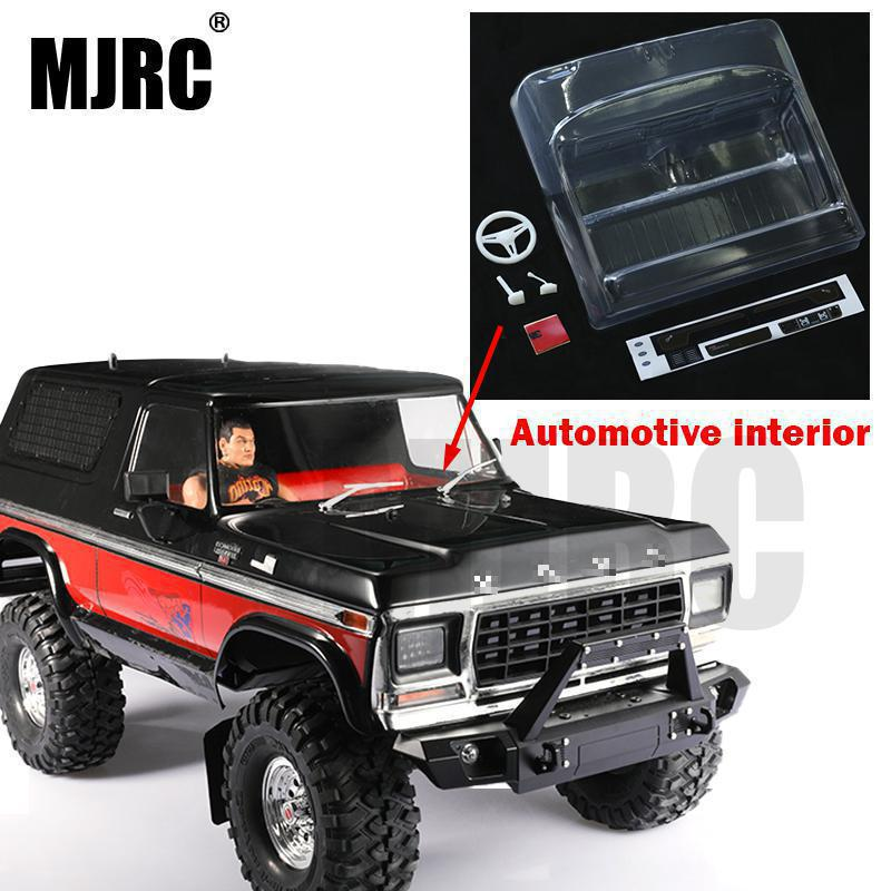 MJRC Transparent Plastic Analog Car Interior Accessories For The Traxxas TRX-4 RC Car TRX4 BRONCO 82046-4 Interior