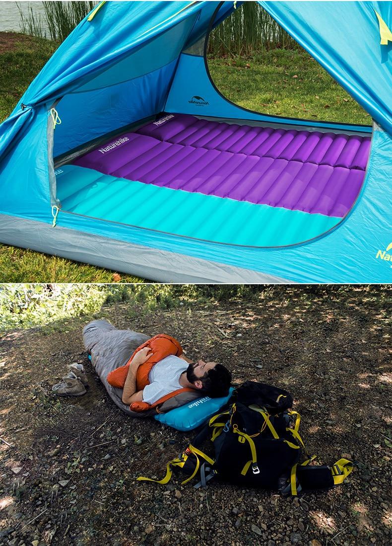 livre dormir almofada colchão inflável NH18Q001-D
