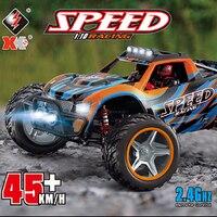 Wltoys 104009 1/10 Skala 2,4G Gebürstet RC Auto 4WD Hohe Geschwindigkeit Fahrzeug Modelle 45 km/h RTR Lkw Buggy Spielzeug erwachsene Kinder Geschenke