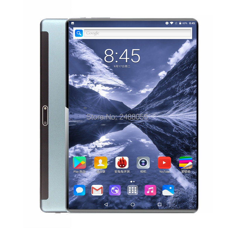 Global Tempered Glass 10 Inch Tablet PC Android 9.0 Octa Core Dual Sim 3G 4G LTE FDD 6GB 128GB ROM 1280*800 IPS Tablets 10.1