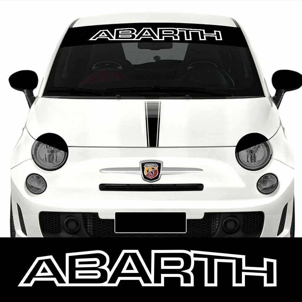 Autocollant pour pare-brise vinyle pour Fiat Punto 500 Panda Abarth Tipo, graphiques tu-88691