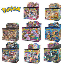 Box Cards-Booster Pokemon-Card Carte Christmas-Gifts Trading Shining Collection 324pcs-Game