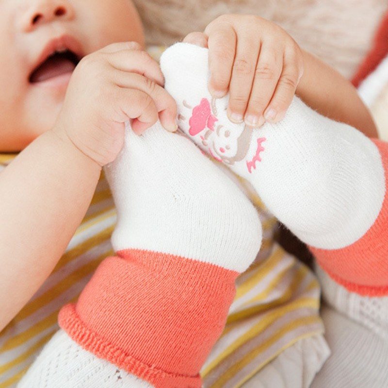 Милые хлопковые чулки для маленьких мальчиков и девочек, новые теплые махровые зимние чулки для новорожденных,# E