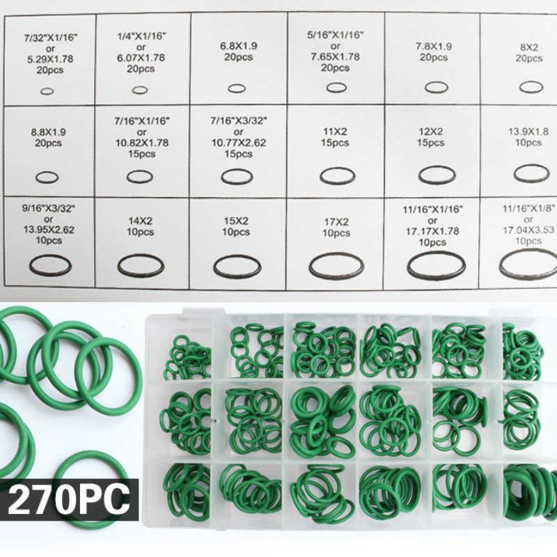 205 PCS Voiture Style 18 Tailles Voiture Climatisation HNBR O Anneaux de réparation automobile ensembles