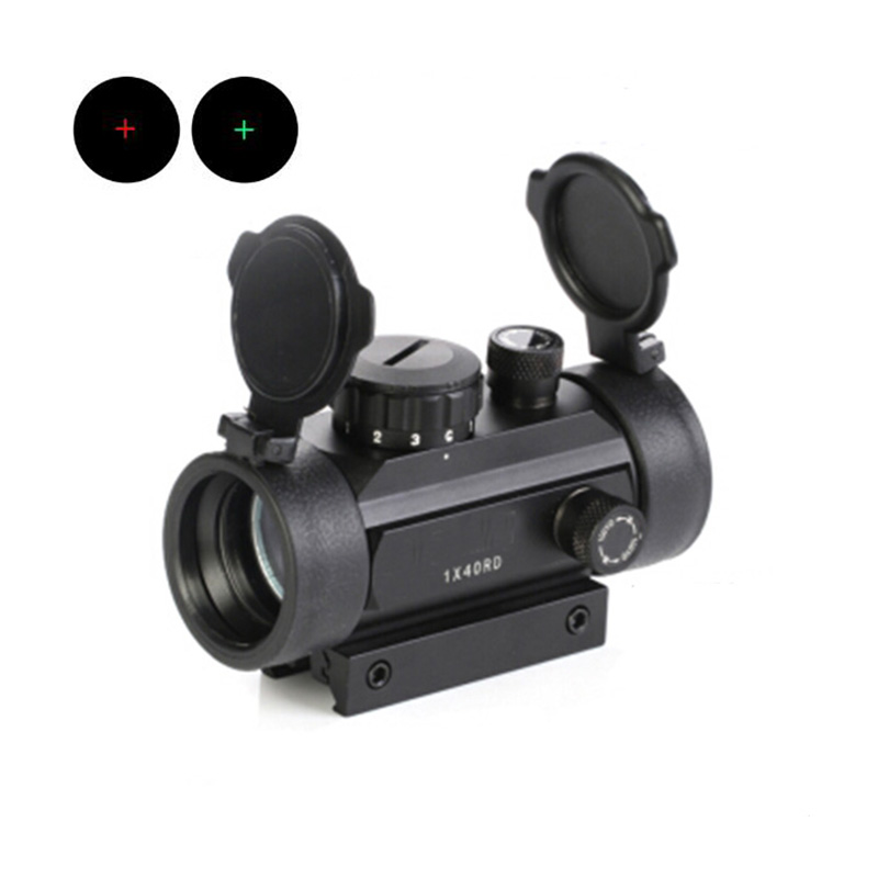 New 1x40 Hunting Rifle Outdoor Air Gun Tactics Inside The Red Dot Sight With Guide Rail And Pipe Precision Aseismic Sight