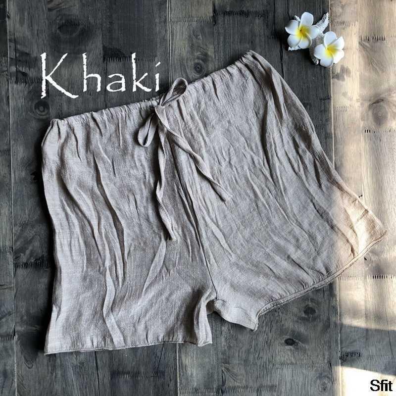 2020 Baru Tinggi Pinggang Wanita Pantai Hot Celana Pendek Melihat Melalui Pakaian Renang Menutupi Warna Solid Wanita Swimwear Chiffon Celana Pendek