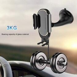 Gravity uchwyt samochodowy na telefon pojazd montaż na przyssawkę akrylowy uchwyt na smartfona dq-drop