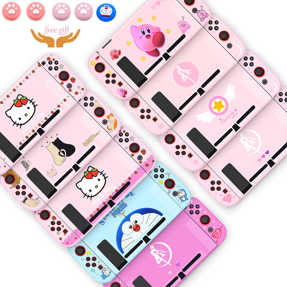 NS Switch Protective Cover Case Colorful Cute Hard PC Skin Shell For Nintend Switch NS Game Console Joy-con Housing Accessories