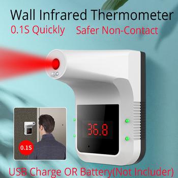 2021 bezdotykowy termometr na podczerwień cyfrowy K3 Pro czoło ręczny czujnik temperatury pistolet laserowy z gorączką Alarm ścienny tanie i dobre opinie TTAKA7 CN (pochodzenie) K3M3 Digital Infrared Thermometer for UX-A-01 for K3 K3Pro 49 ° C i Pod Gospodarstwo domowe 1 9 Cali i Pod