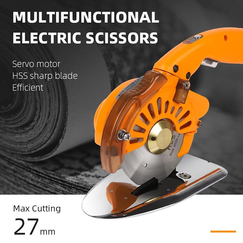 Cloth Handheld Direct Scissors Round Round Electric Blade 220V Servo Knife Electric Machine Silent 110V Cutting Drive Industrial