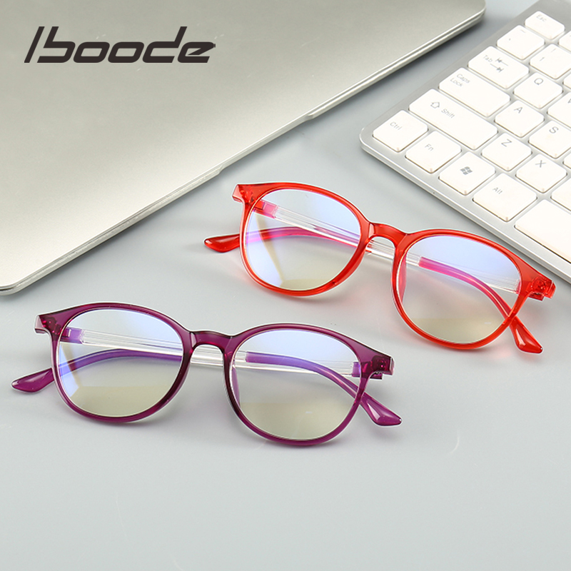 Iboode Anti Blue Light Glasses Frame Men Women Anti Radiation Eye Protection Computer Glasses Anti Blue Rays Spectacles Frames