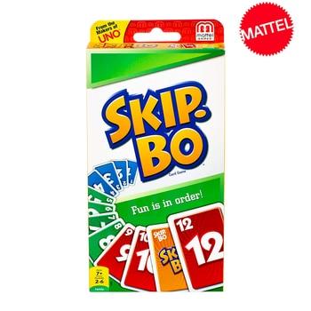 Mattel Games UNO:SKIP BO Card Game Multiplayer Card Game Family Party Games Toys Kids Toy mattel games 52456 уно для детей
