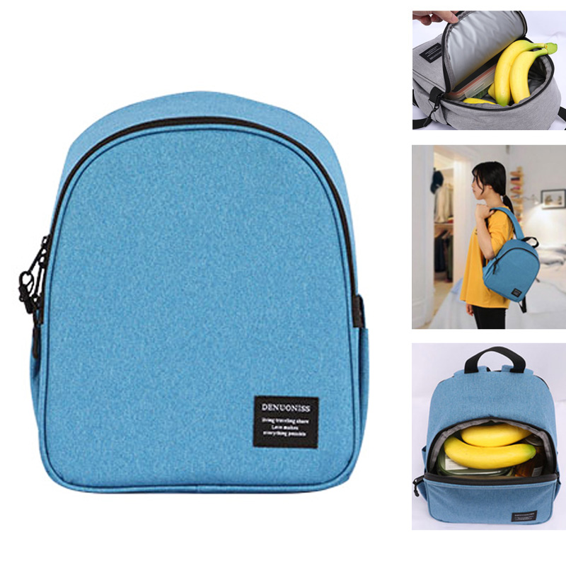 DENUONISS Brand Insulation Backpack Travel Picnic Lunch Thermal Cooler Bag Men Women Cooler Foods and Bee Cooler Backpack Travel image
