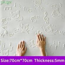 Мультяшный милый 3d стикер на стену из пены для детской комнаты