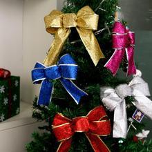 Горячая Распродажа банты Рождественская елка вечерние подарки подарок Рождественское украшение Новинка