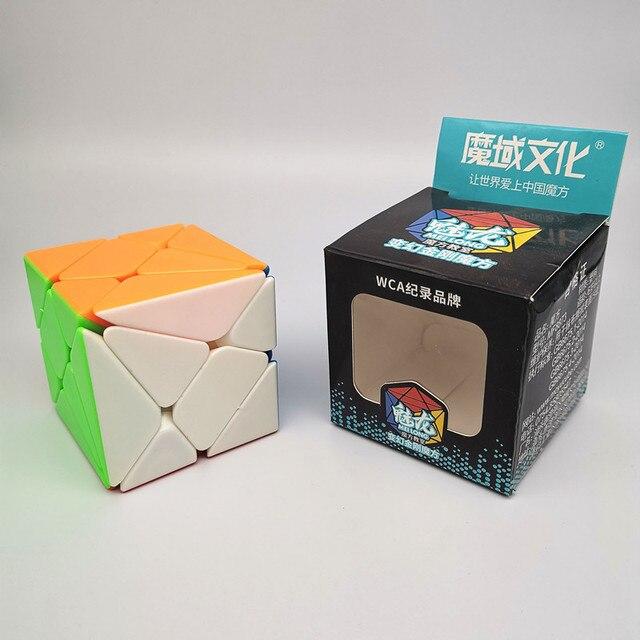 Moyu MoFang classe 3x3 axes cube vitesse professionnelle 3x3x3 forme étrange cubo magico adulte jouet enfants cadeau éducatif